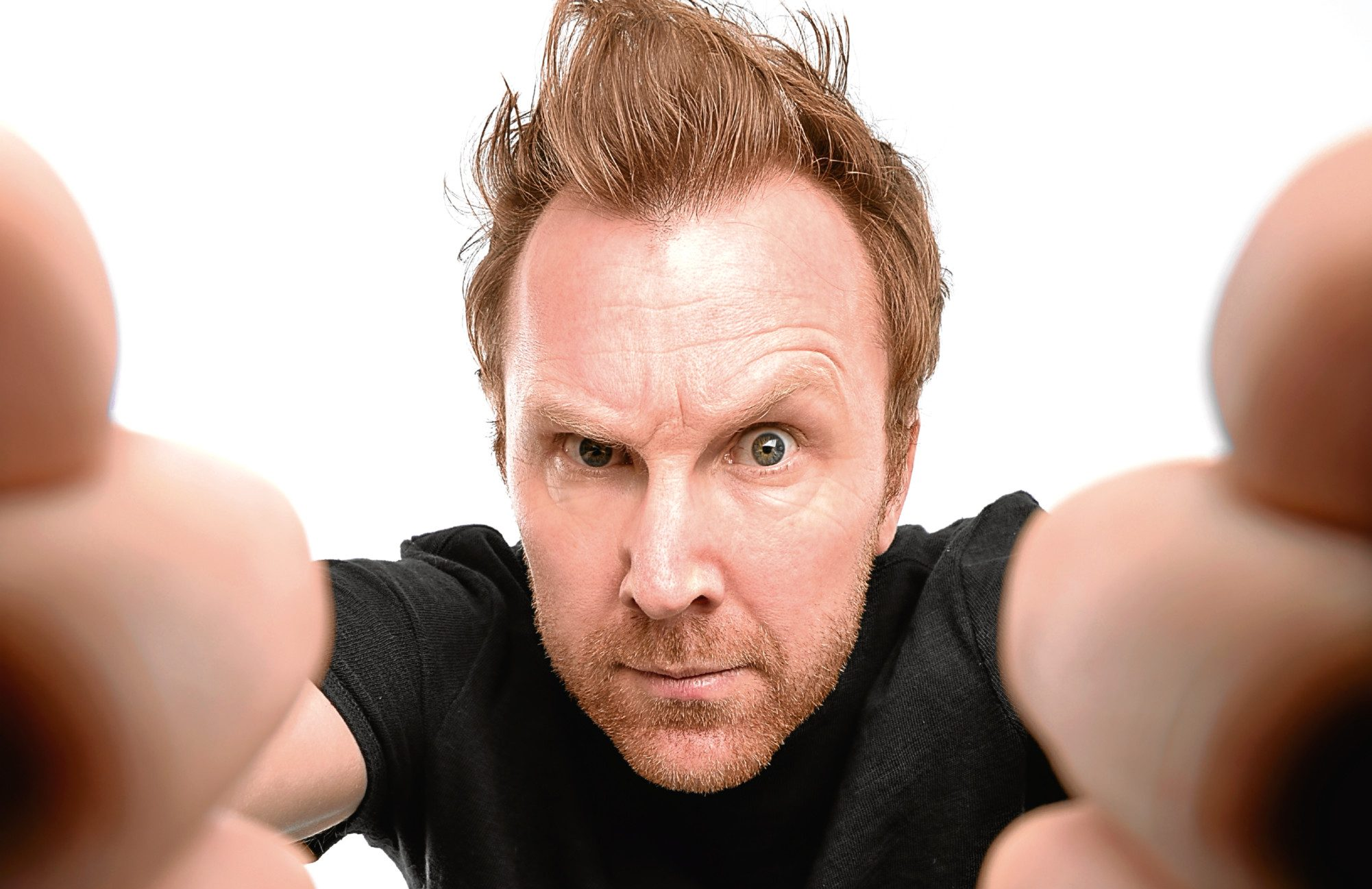 Top Irish stand-up Jason Byrne, one of the best in the business, is headlining tomorrow night's 'Live At The Civic' at Brierley Hill Civic Hall.