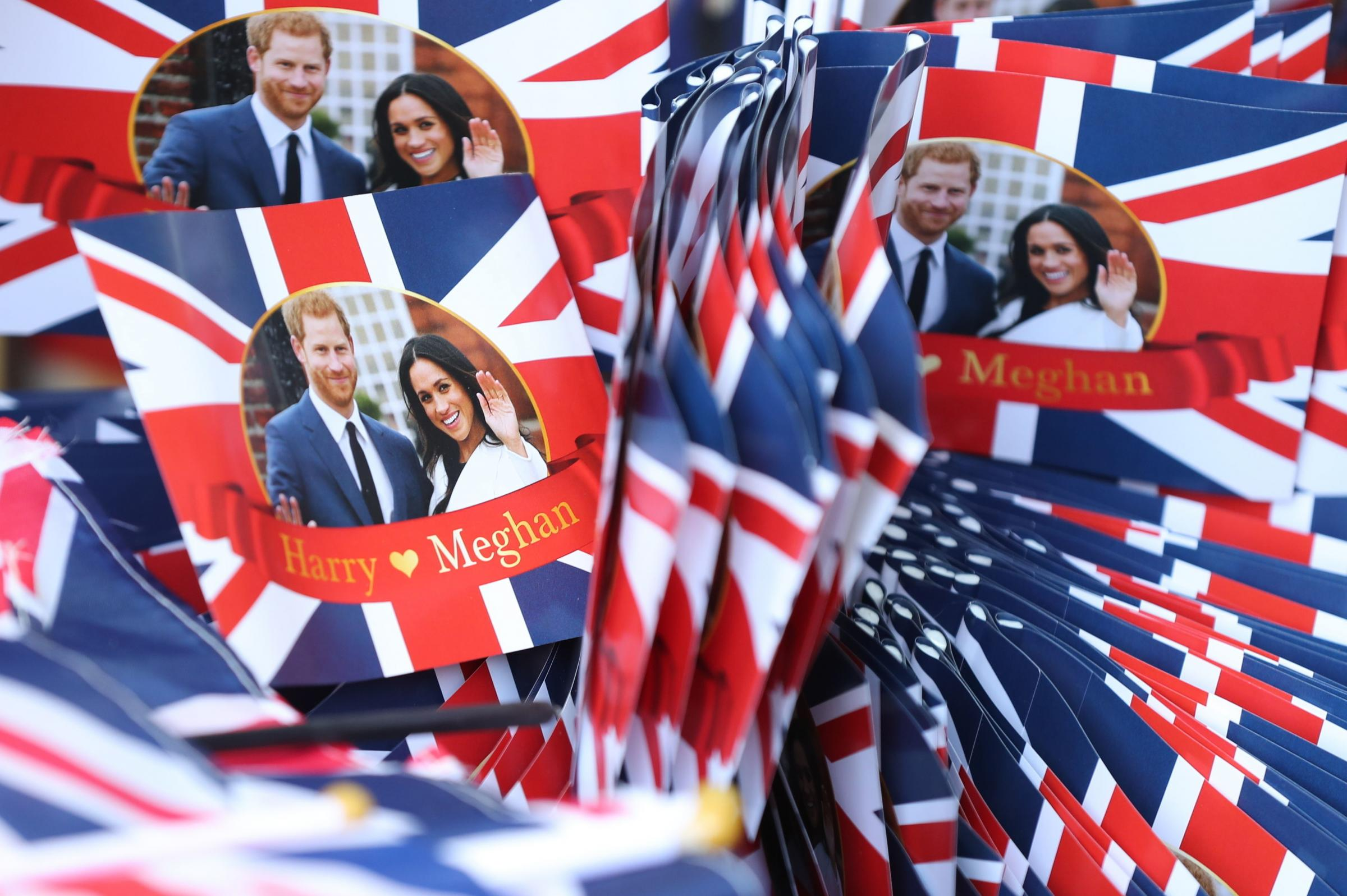 intu Merry Hill will show the wedding of Prince Harry and Meghan Markle this Saturday (May 19). Photo: Gareth Fuller/PA Wire