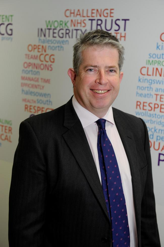 Dr David Hegarty has been re-appointed as chairman of Dudley CCG for a three year term.