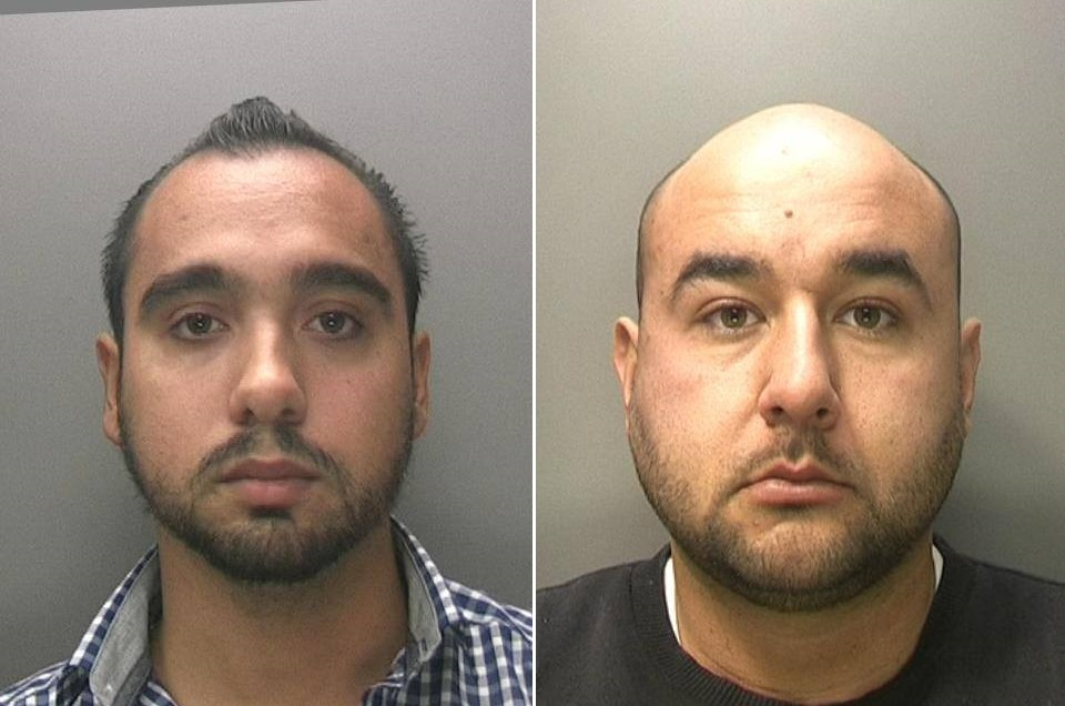 WANTED: Adam Brzezinski and Dawid Kasperowicz are being hunted down in connection with slavery offences in Sandwell and Dudley. Photo: West Midlands Police