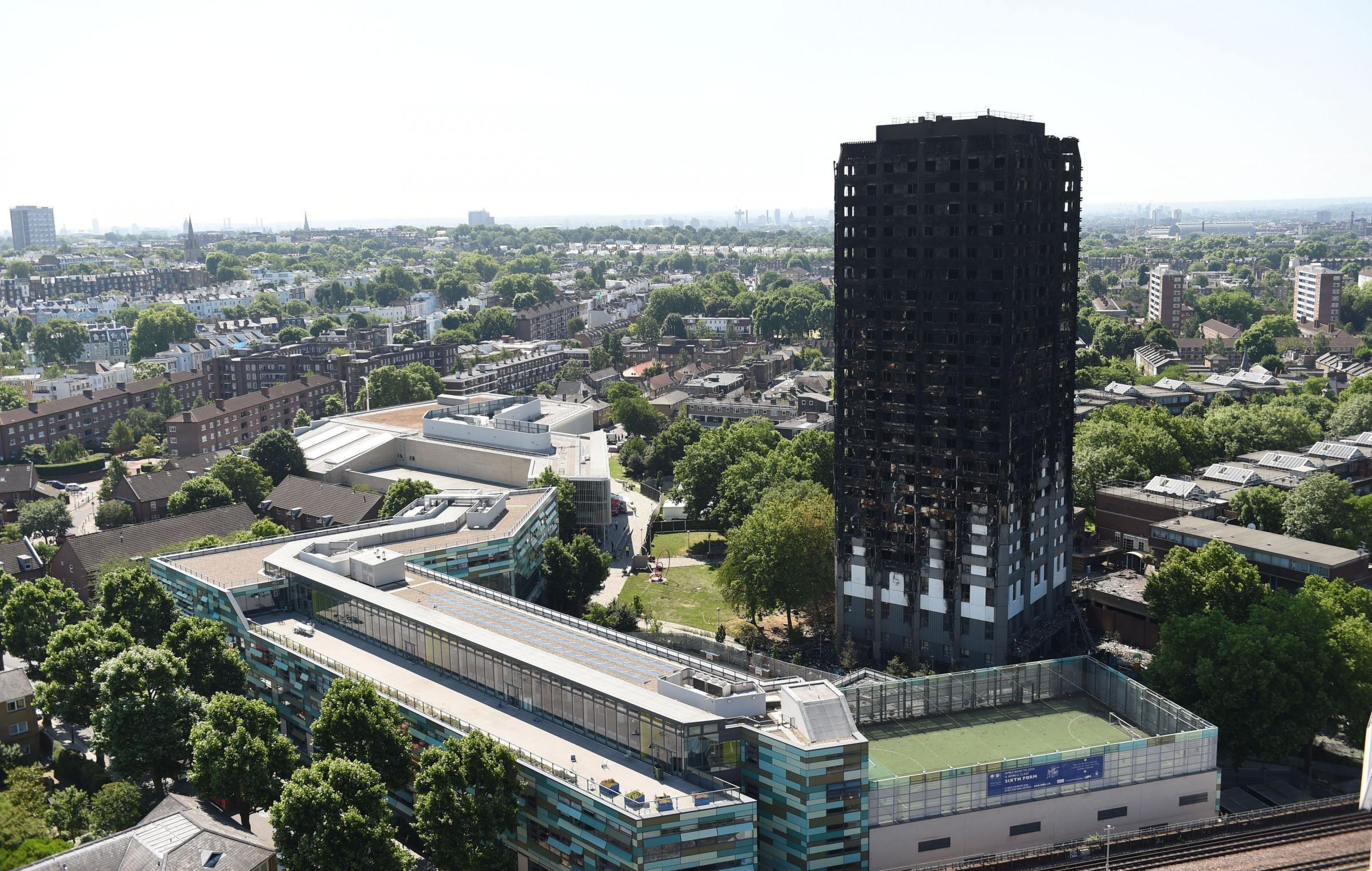 The fire at Grenfell Tower in London claimed 72 lives. Photo: David Mirzoeff/PA Wire