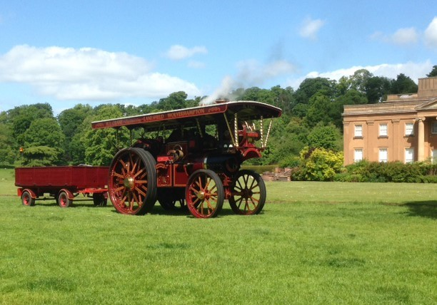 Vintage transport and country fair imageHimley Hall and Park will once again host its annual Vintage Transport and Country Fair this June.