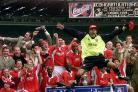 Clive Mendonca inspired Charlton to a stunning play-off final win over Sunderland (Adam Butler/PA)