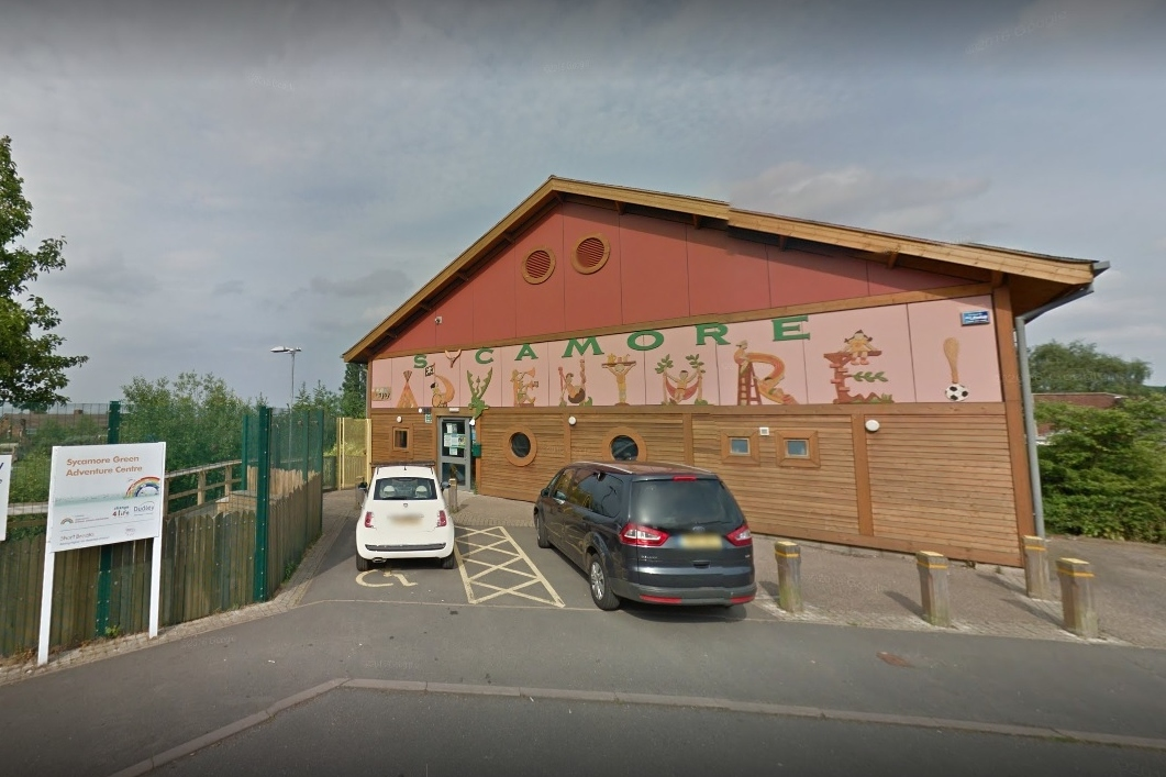 Sycamore Adventure play centre in Dudley. Pic: Google Street