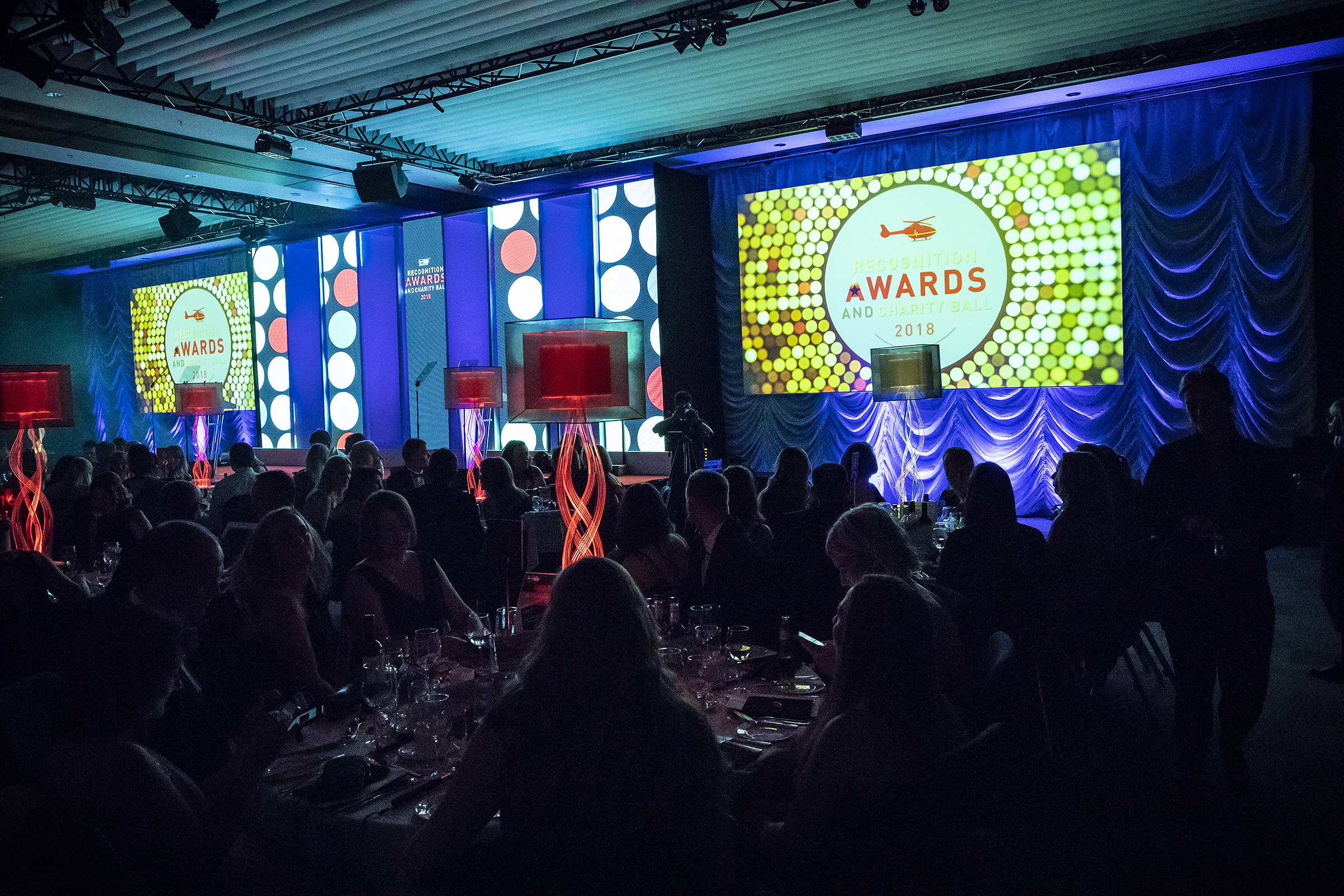 Midlands Air Ambulance Charity's seventh 'Recognition Awards and Charity Ball' raised more than £130,000.