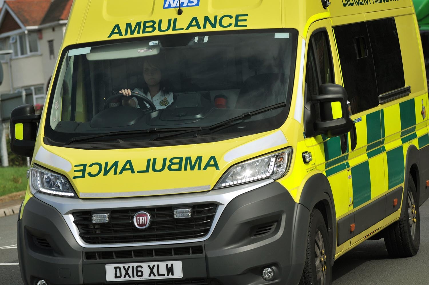 Man injured after two-car collision