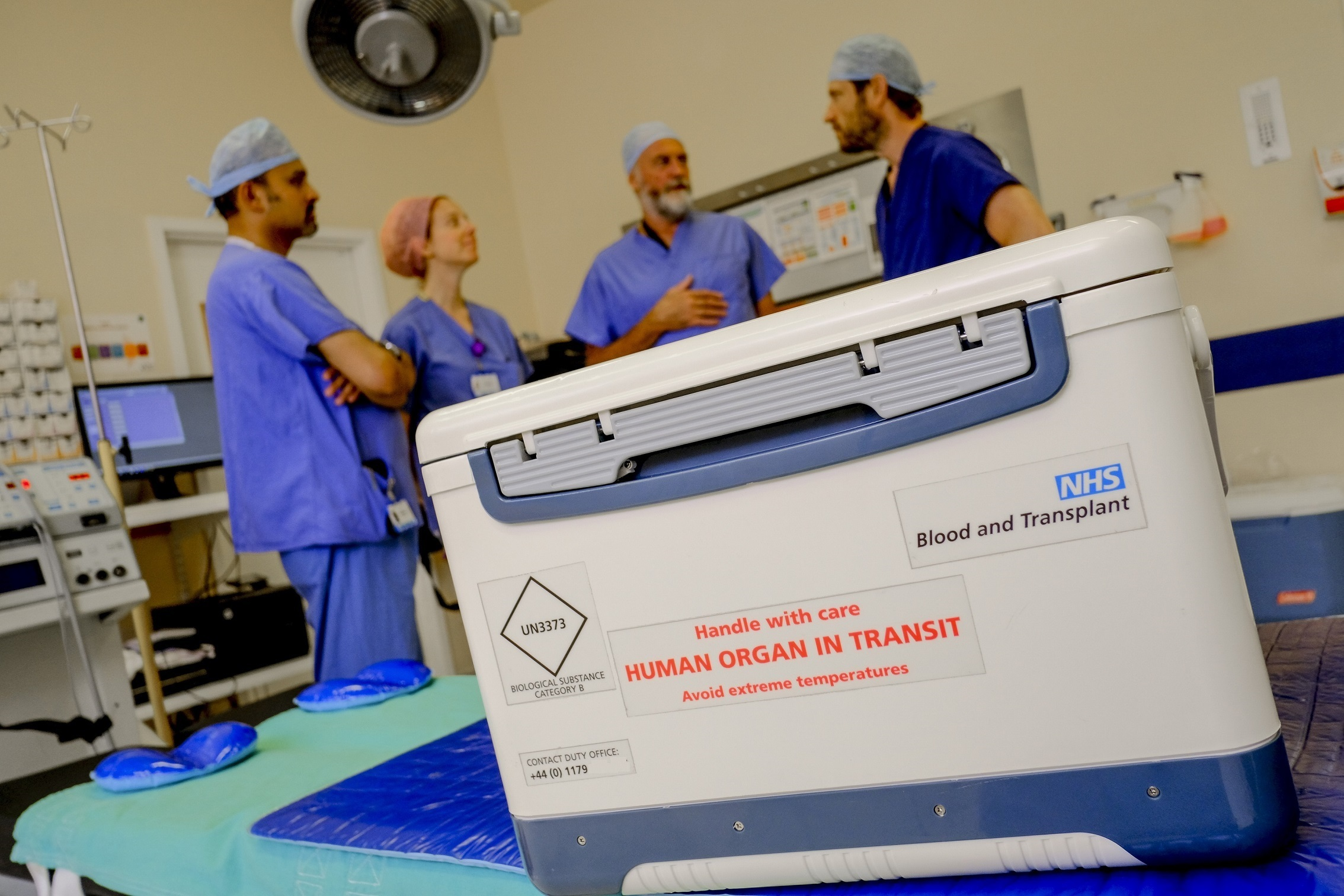 NHS Blood and Transplant revealed 31 people from Dudley borough are on the organ transplant waiting list.