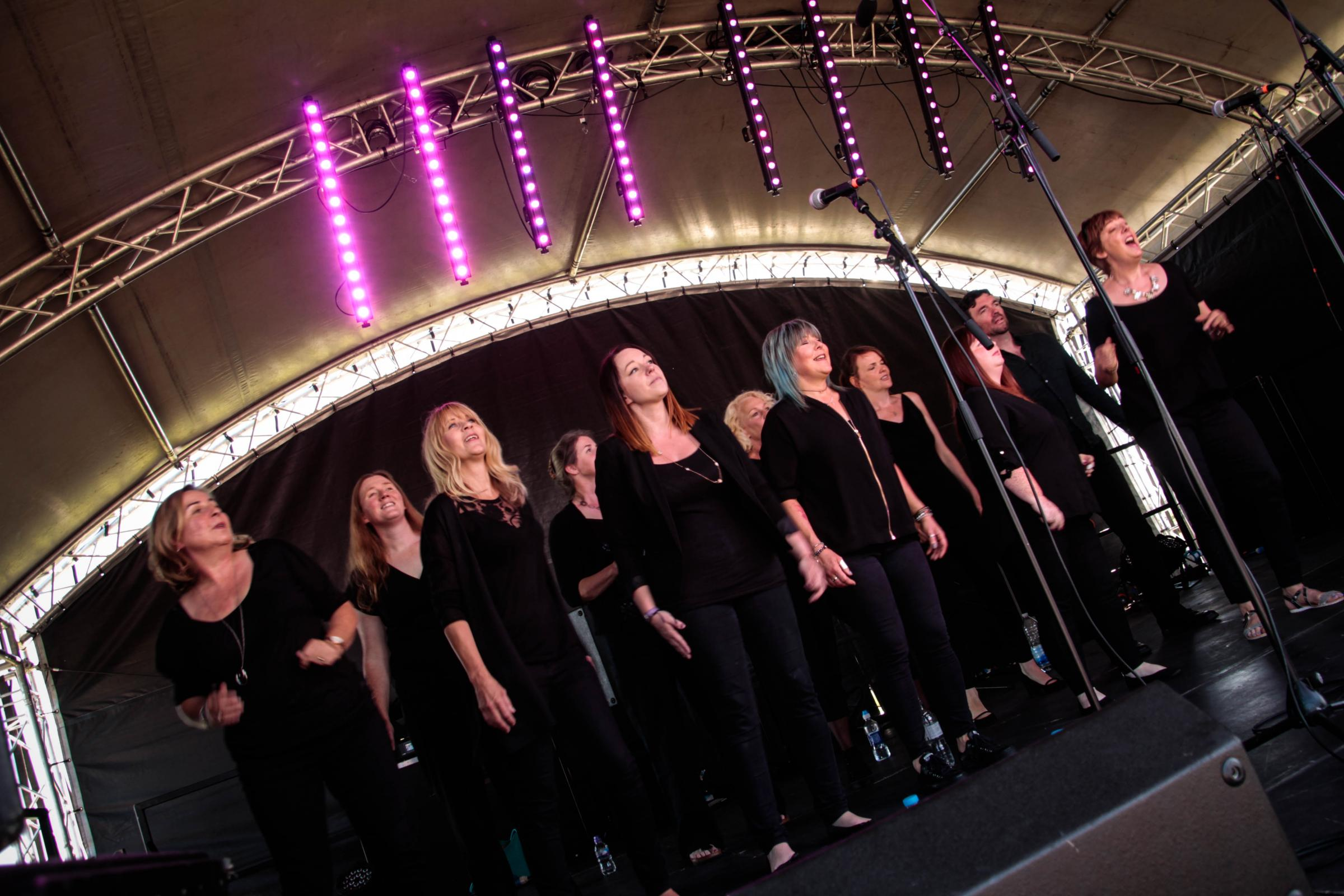 Hereford Soul Choir - in a Yurt!
