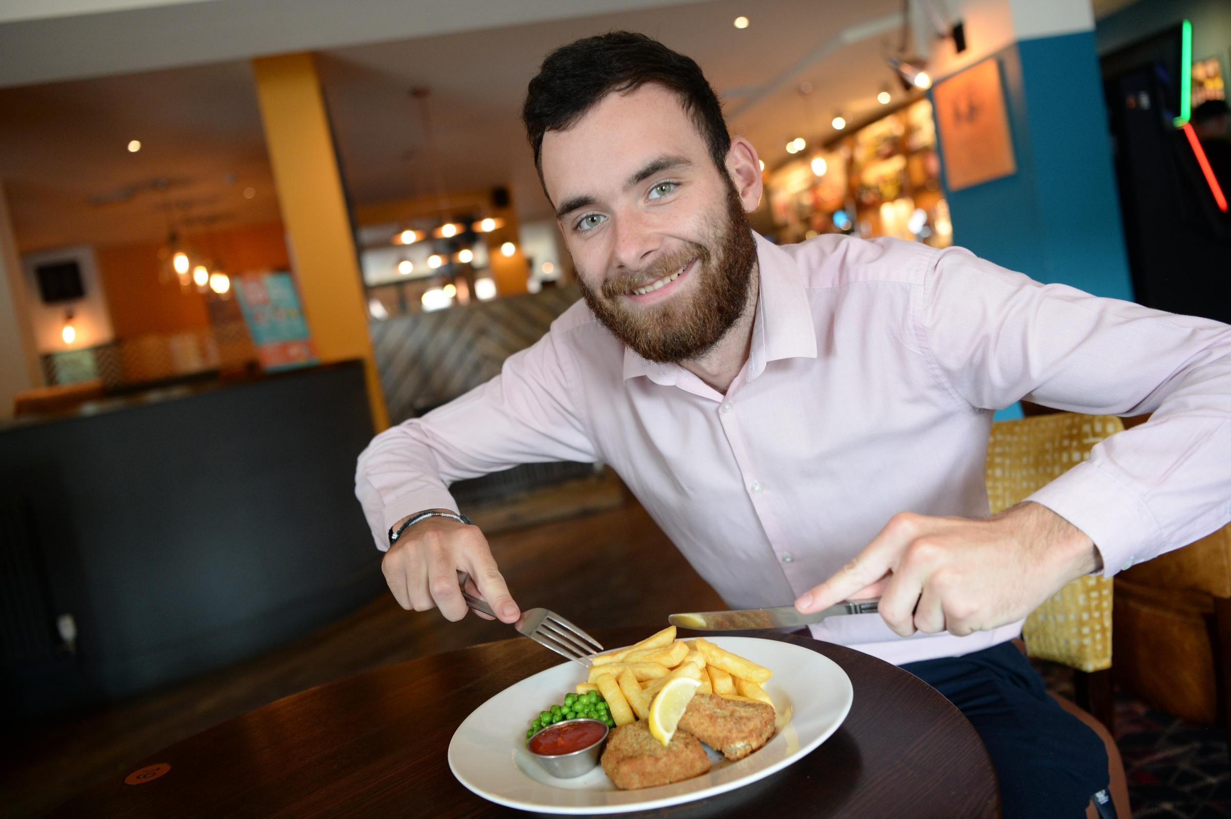 Vegan fish and chips are now on the menu