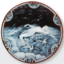 Dudley News: Fieldings- George Woodall Cameo Glass plaque for £104,160