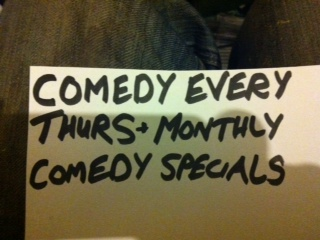 COMEDY EVERY THURSDAY IN CRADLEY HEATH