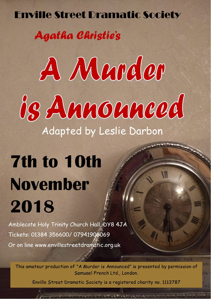 Agatha Christie's 'A Murder is Announced'