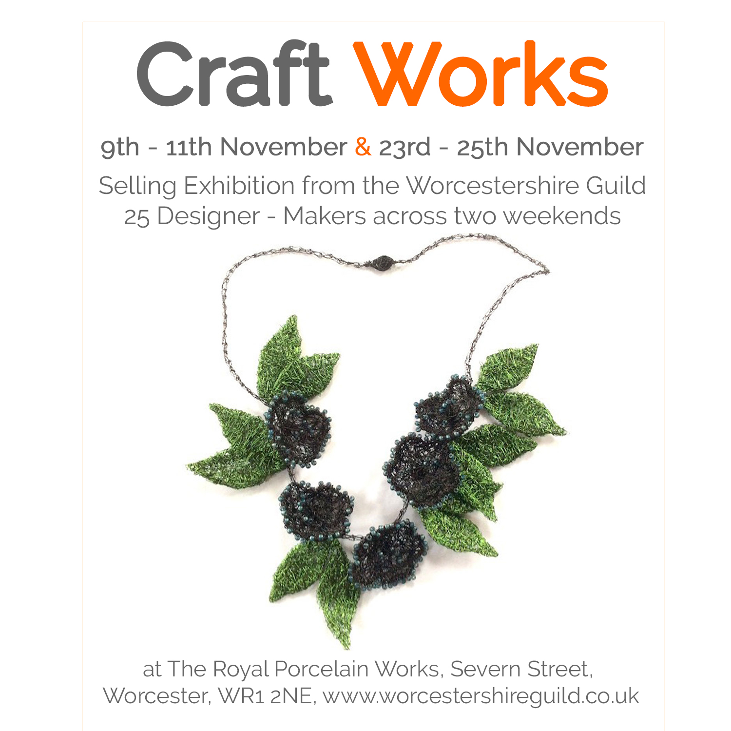 Craft Works - Craft Fair at the Royal Porcelain Museum