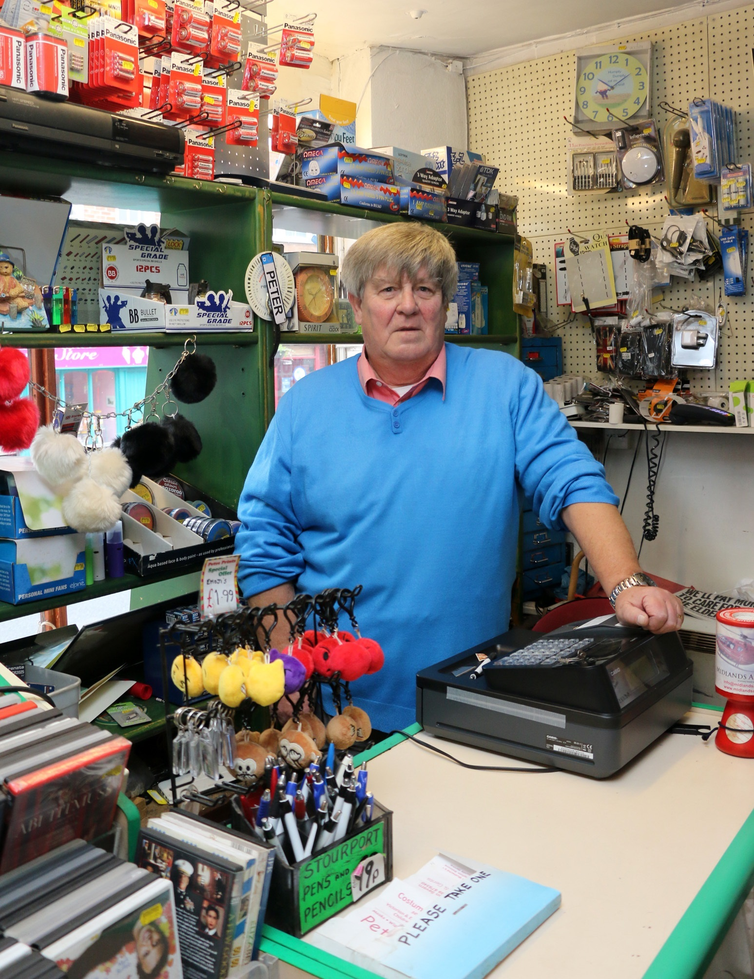 Community-spirited Pete calls time on his Stourport business