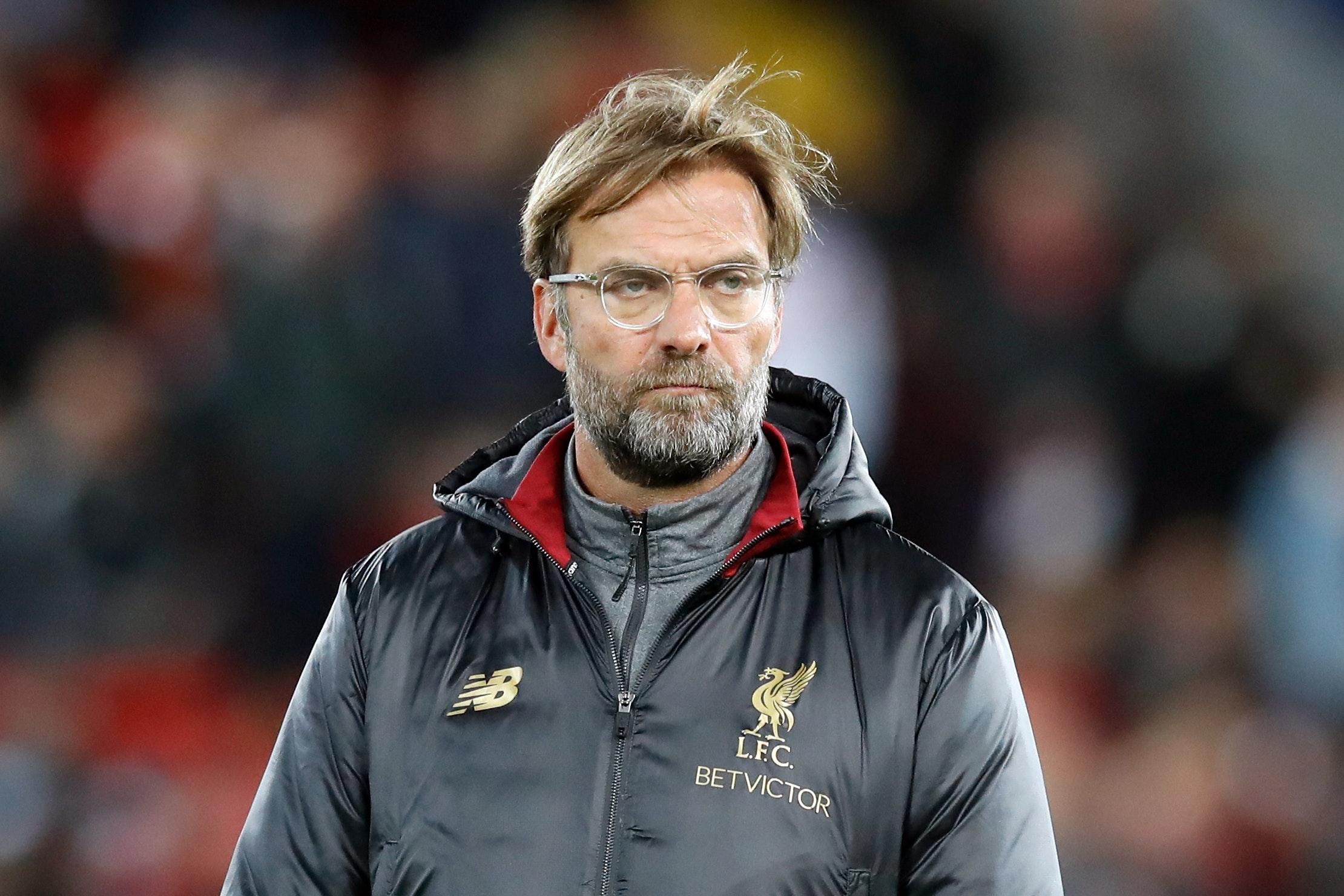 Jurgen Klopp wants an end to Liverpool's away-day blues