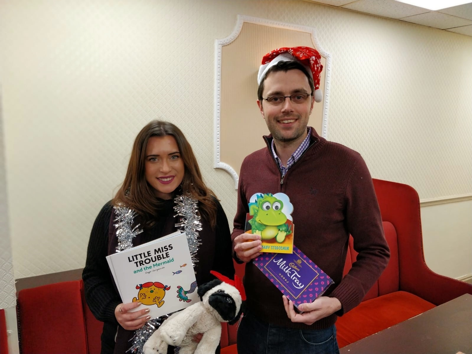 Kingswinford North and Wall Heath Councillors Nicola Richards and Ed Lawrence have launched a Christmas appeal for vulnerable Dudley residents.