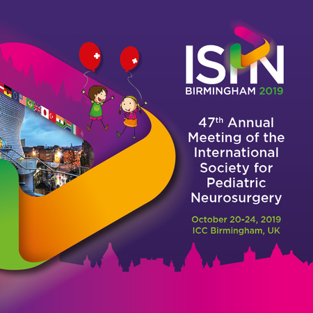ISPN2019 Annual Meeting of International Society for Pediatric Neurosurgery