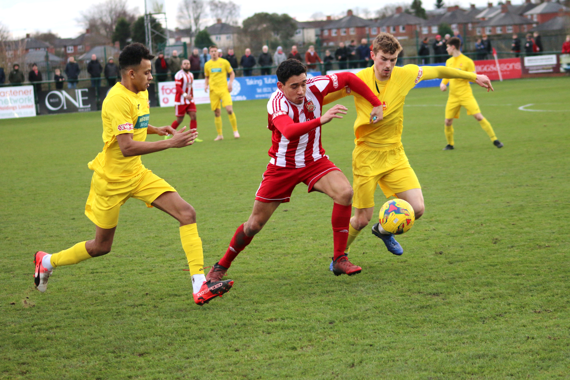 Kaiman Anderson in action against Banbury