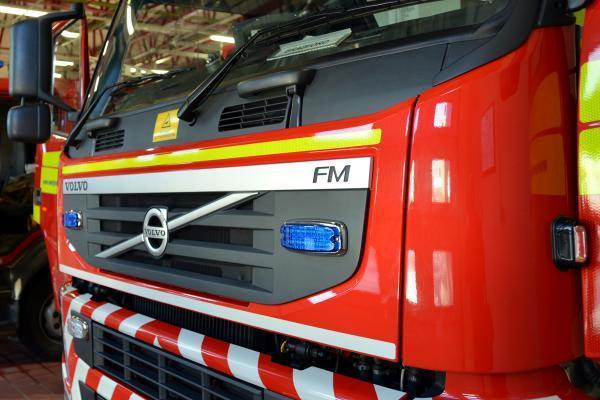 Firefighters attend severe fire in derelict Sedgley house