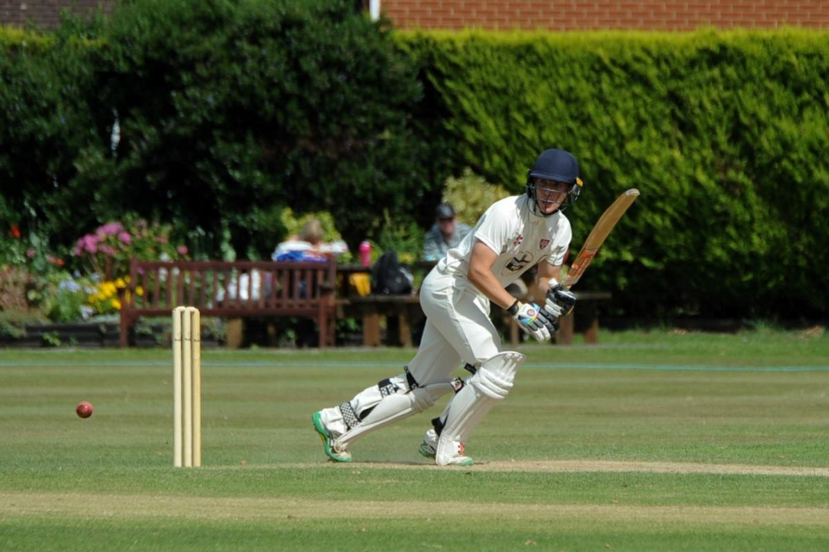 Jamie Harrison in action for Herefordshire