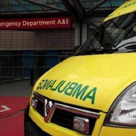 Man rushed to hospital after Bank Holiday garden fall