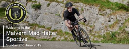 Malvern Mad Hatter Sportive, 100, 62, 37 Miles, Sun 2nd June