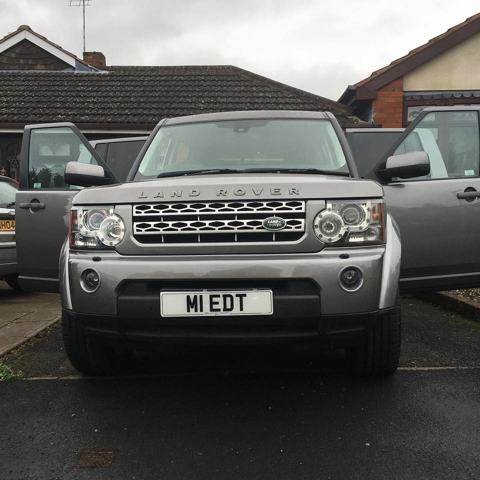 The stolen Land Rover was spotted in Upper Gornal last night (March 8).