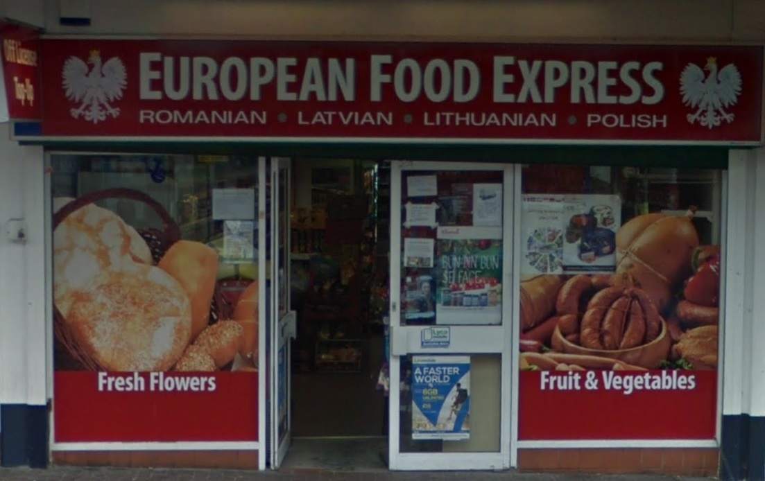 European Food Express on Dudley High Street is closed for a further three months following a Closure Order brought by Dudley Council. Photo: Google Maps.