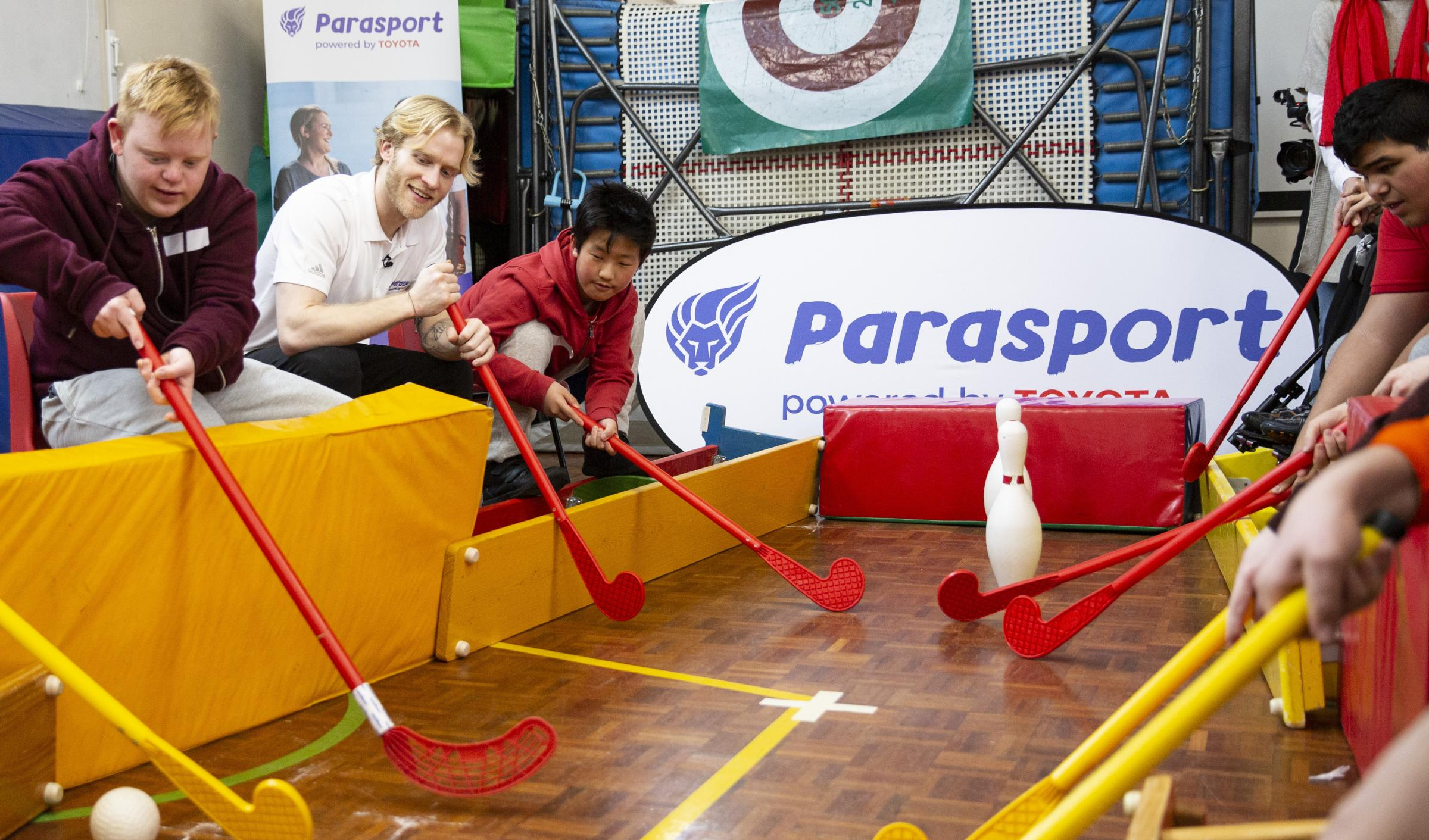 Jonny Peacock helped launch Parasport, which aims to improve access to disabled sport