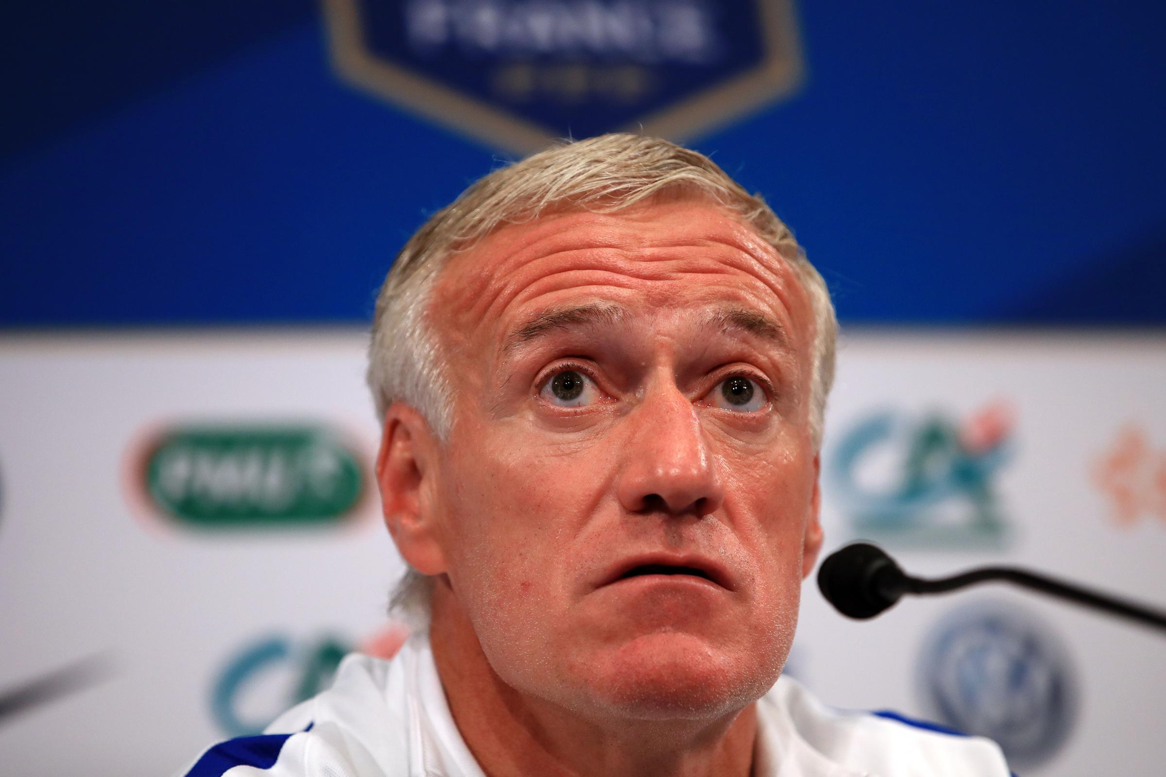 France manager Didier Deschamps was relieved his side managed to get their job done against Moldova