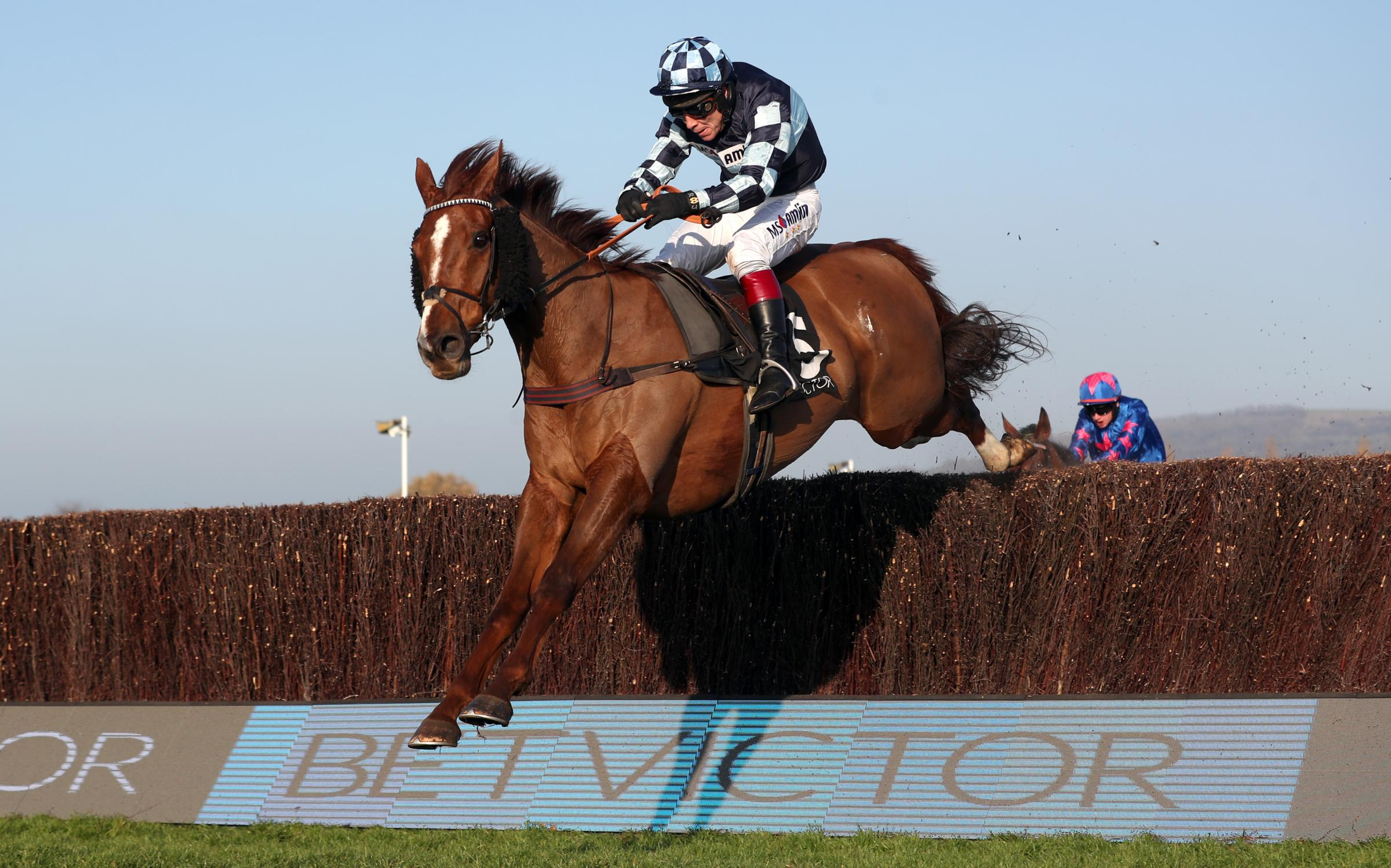 Rock The Kasbah ridden by Richard Johnson is set to line up in the Grand National. Photo David Davies/PA Wire/PA Images.