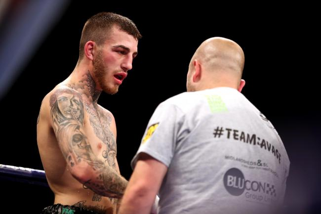 Sam Eggington suffered defeat against Liam Smith. Photo: PA Images