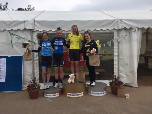 Kinga Ingram tops the podium