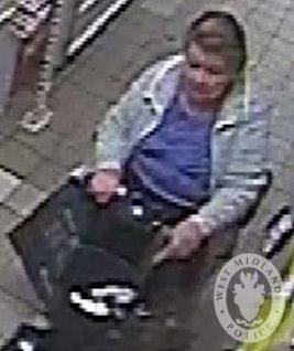 Have you seen this woman? Photo: West Midlands Police.