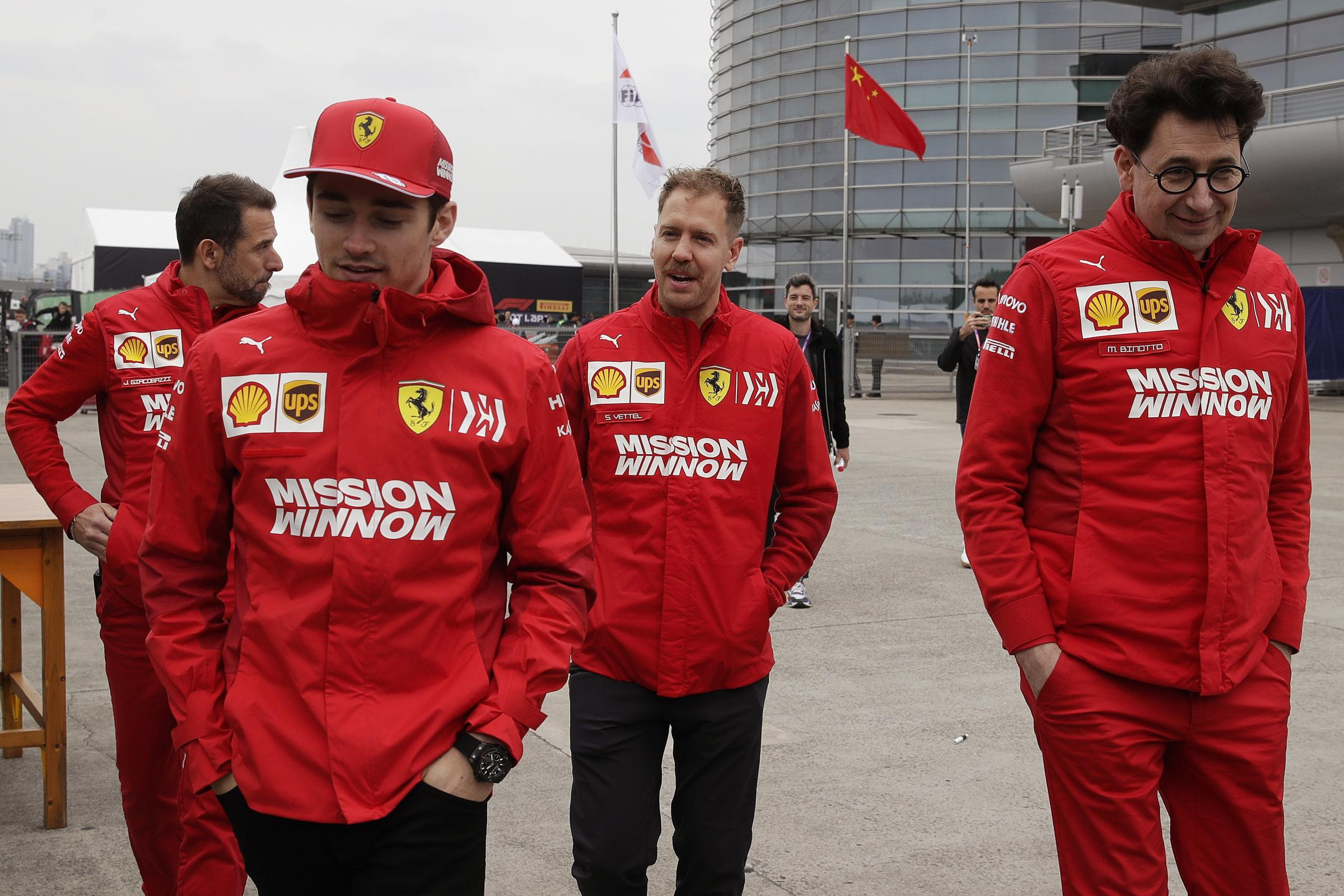 Team politics have become a talking point at Ferrari again