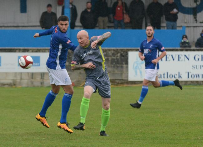 Lee Hughes needs to decide if he wants to call time on his playing days. Photo from Halesowen Town.