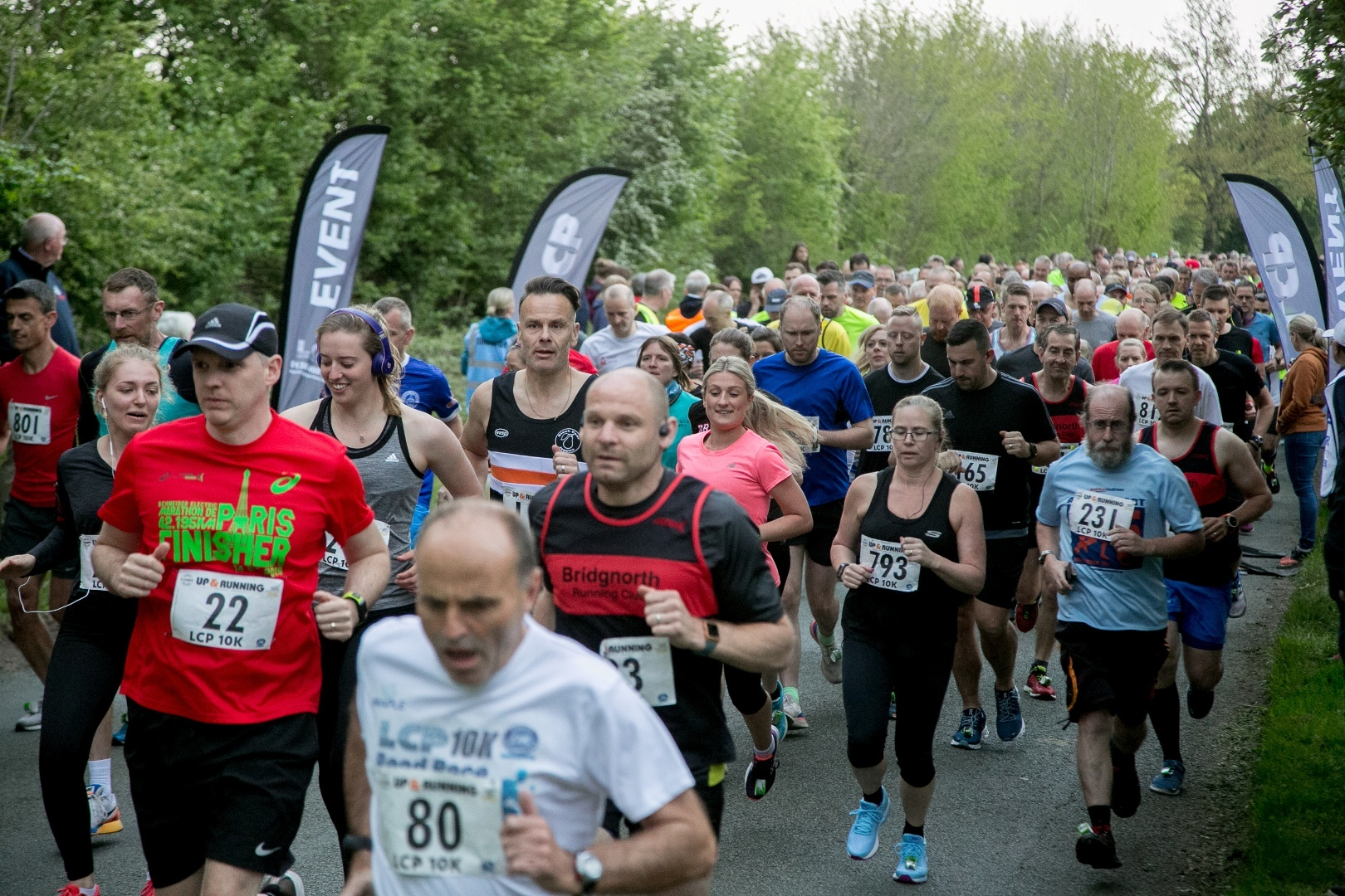 Runners take on the LCP 10k race