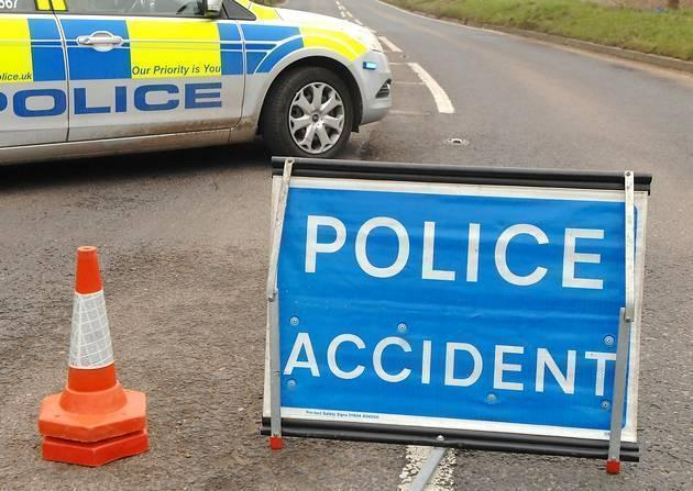 West Mercia Police say the A40 is blocked south of Ross-on-Wye