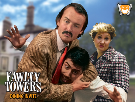 Fawlty Towers Dinner Show Mercure Bowden Hall Hotel - 28th June