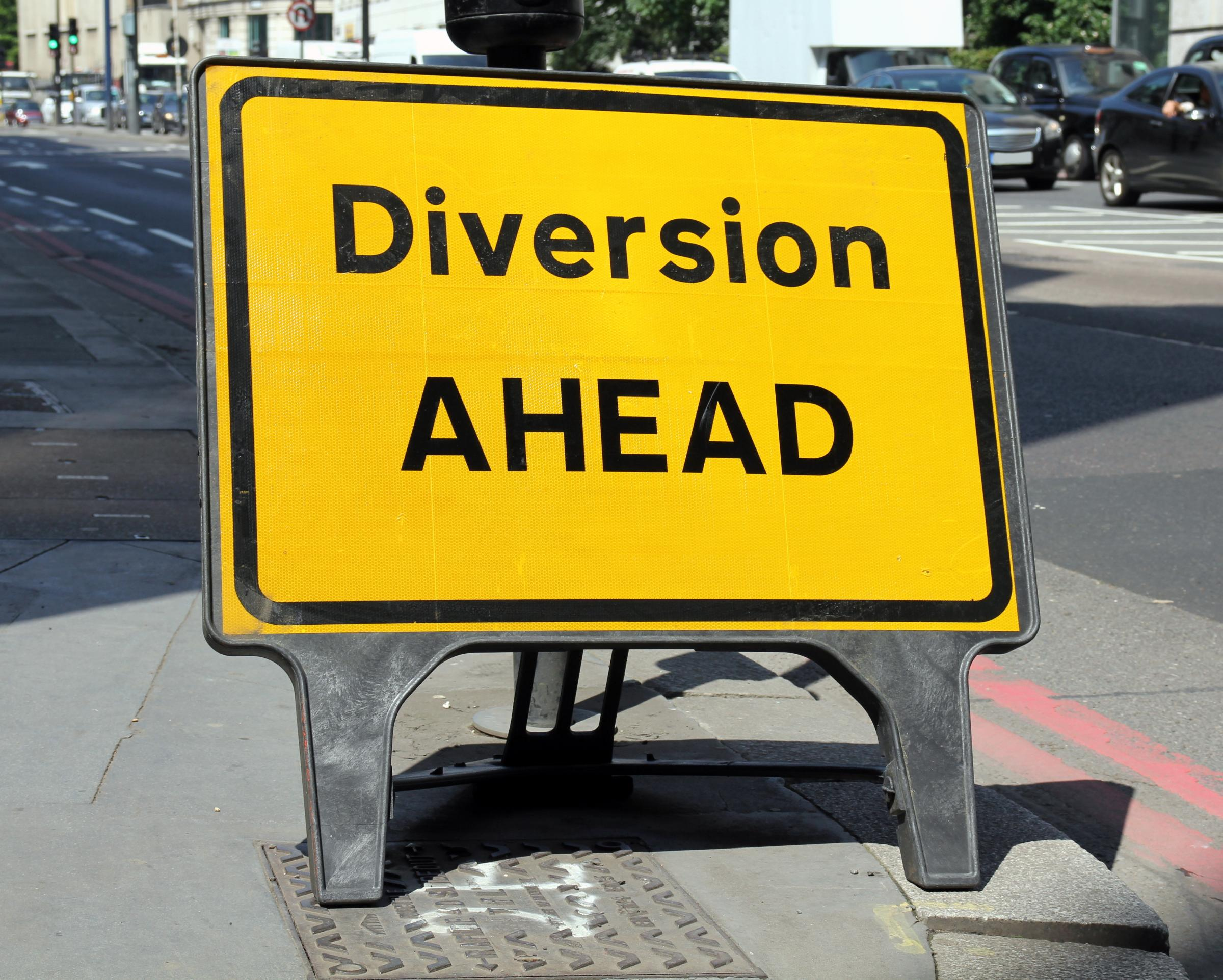 Diversions will be in place due to work on St James Road and Bury Hill Road in Oldbury. Picture: Getty Images
