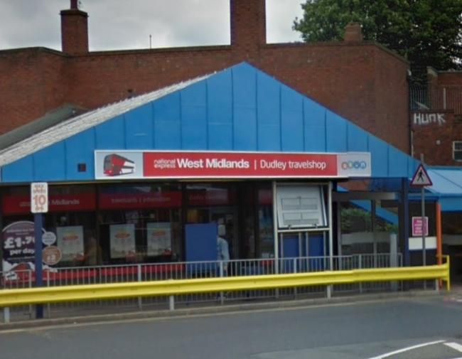 The arrest was part of a knife arch operation at Dudley bus station. Photo: Google Maps.