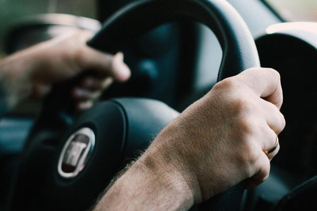 Library image of someone driving.