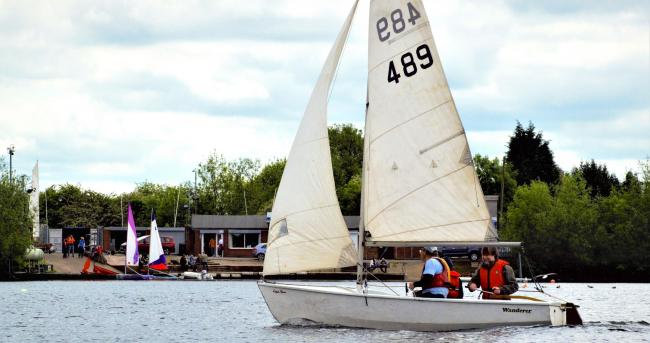 Dudley Sailing Club is hosting a free 'try it out' event over the Bank Holiday weekend. Picture: Thomas Billingham.