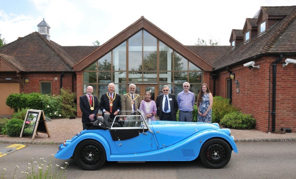 Morgan Motors Takes Part In Launch Of Historic Elgar Route In