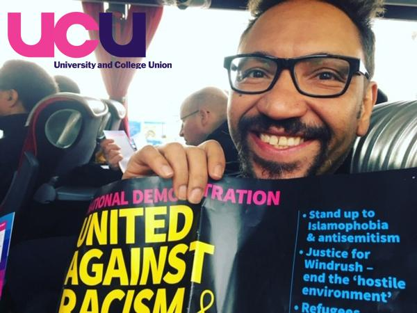 The University and College Union is unhappy about the sacking of Sandwell College lecturer Dave Muritu.