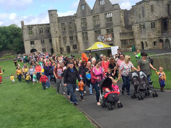 Last year's Big Toddle at Dudley Zoo and Castle.