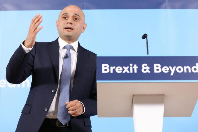 Sajid Javid launches his campaign to become leader of the Conservative Party