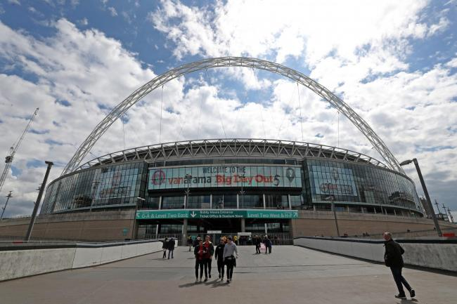 Wembley Stadium Bradley Collyer/PA)